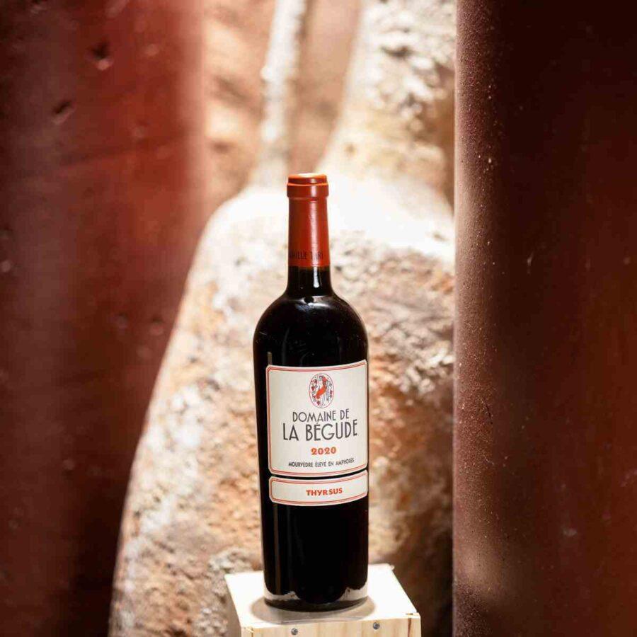 Vin rouge Thyrsus Domaine de la Bégude
