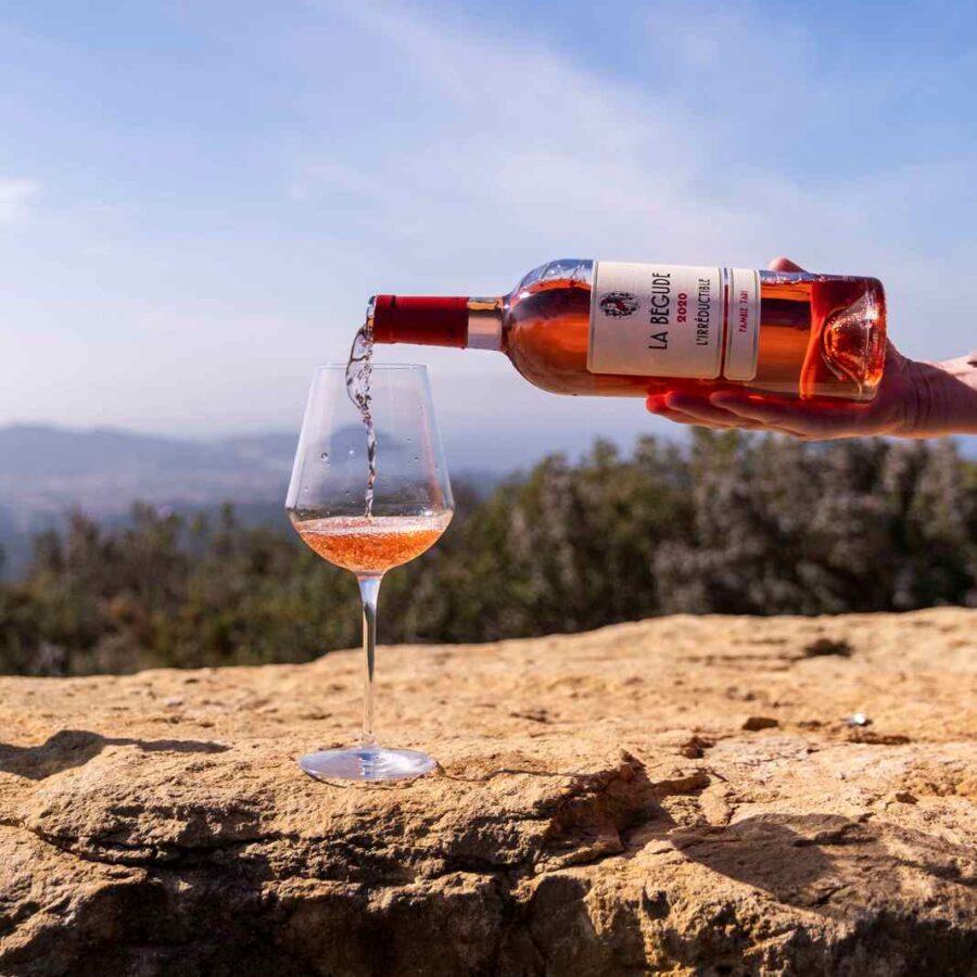 Vin rosé l'irréductible 2020 Domaine de la Bégude