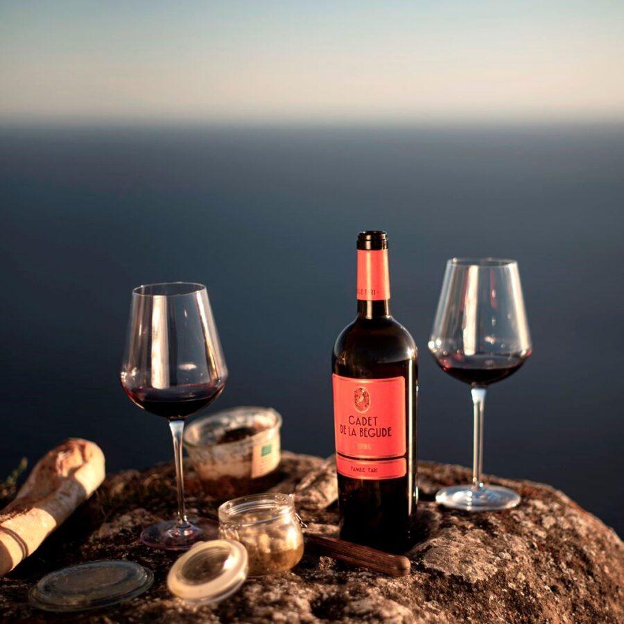 Vin rouge Cadet de la Bégude 2020