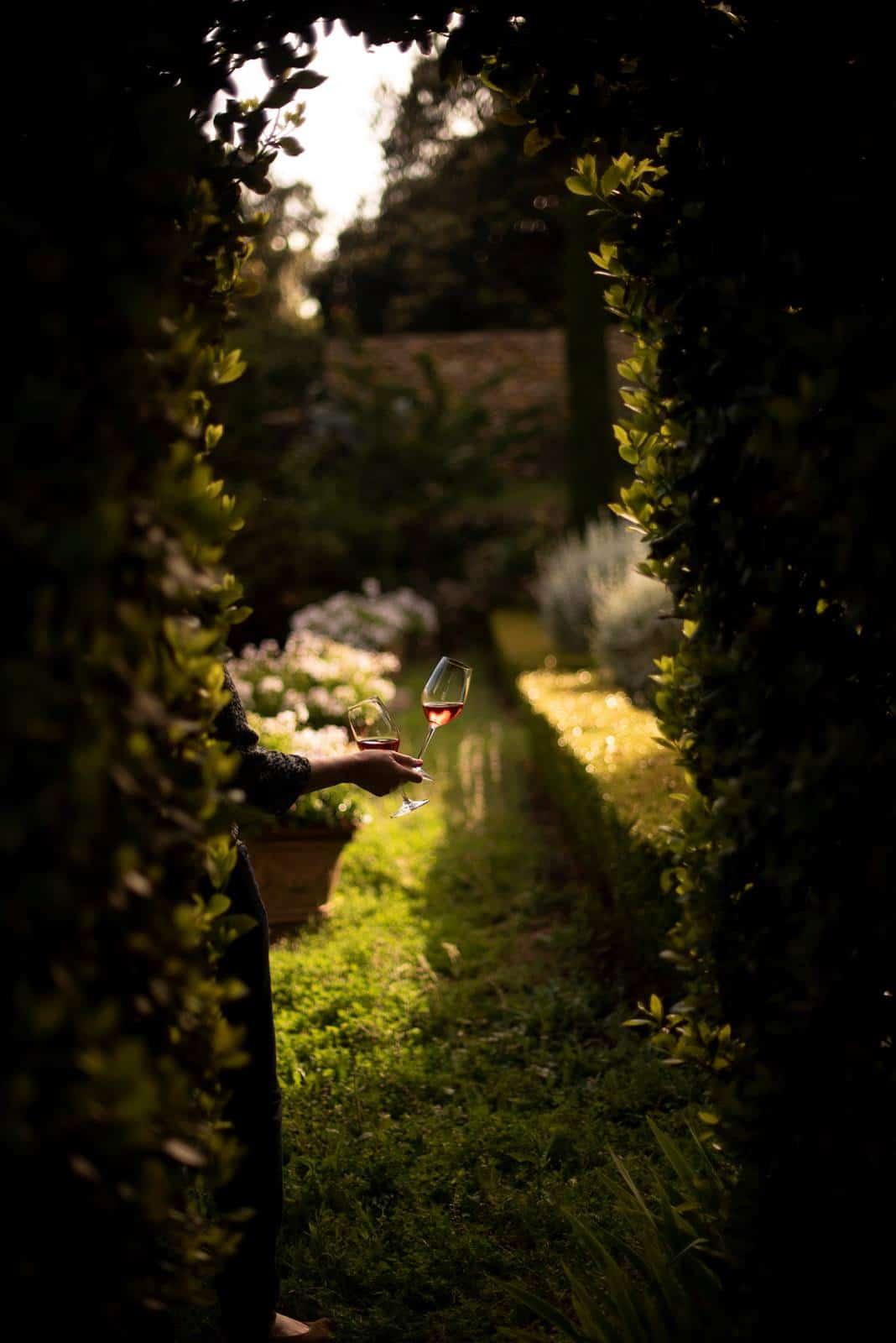 Jardin domaine de la bégude Bandol