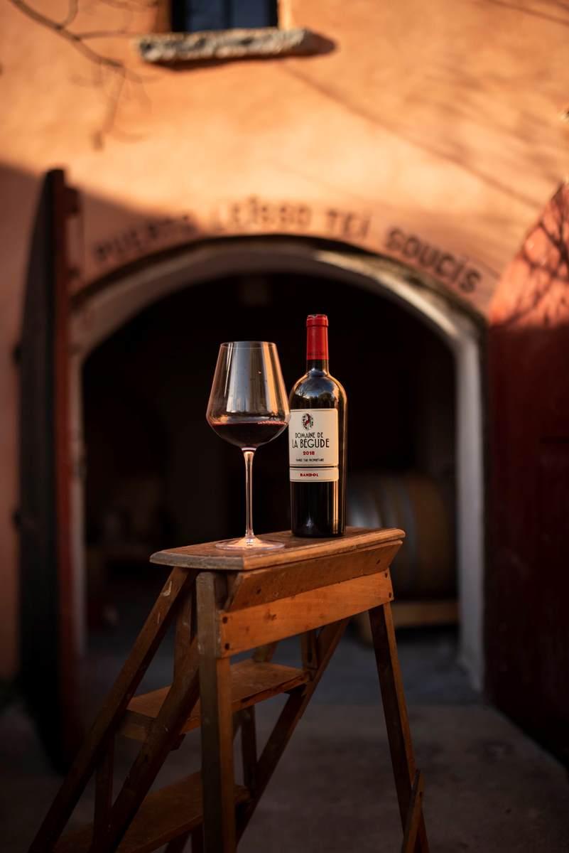 Vin Bandol rouge domaine de la Bégude