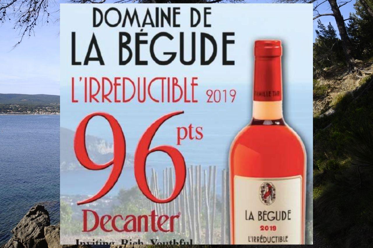 Domaine de la Bégude, Irréductible, Bandol 2019