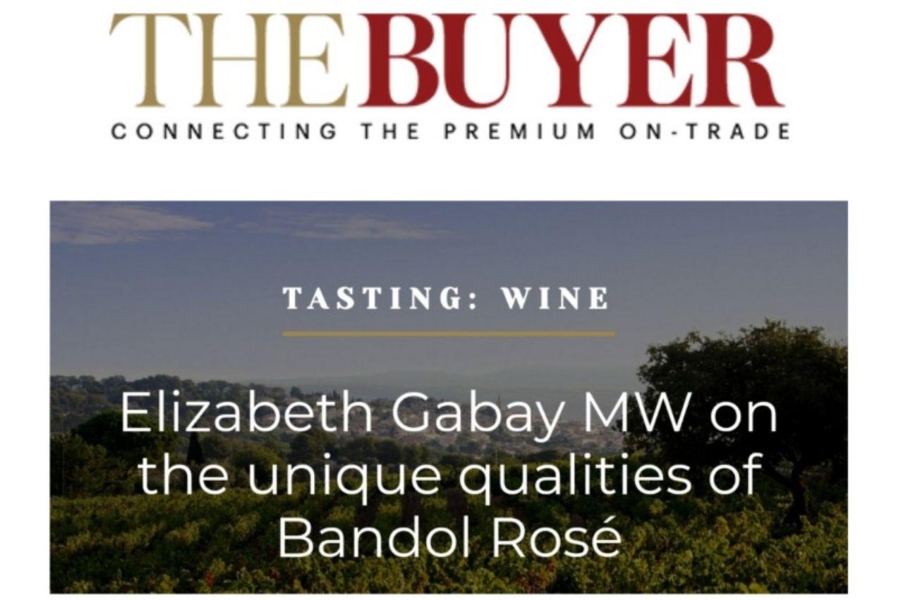 Notre Irréductible rosé 2019 sélectionné par Elisabeth Gabay, Master of wine.