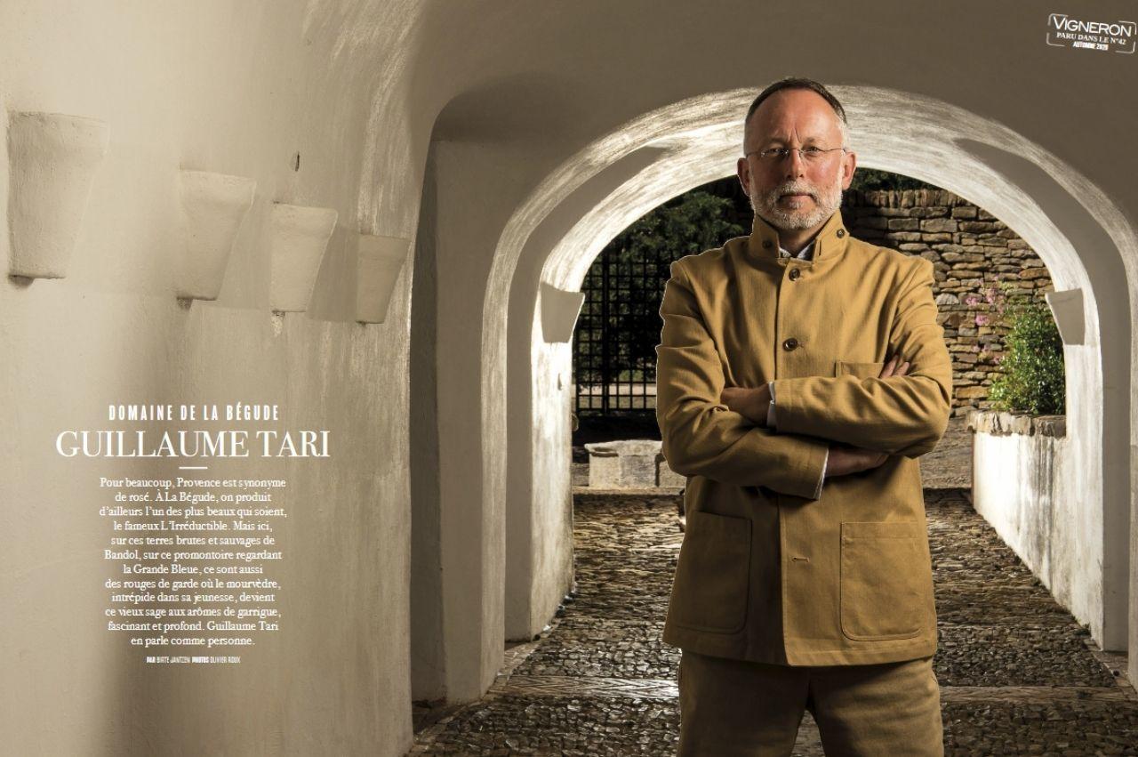 Magnifique reportage de 14 pages consacré au Domaine de la Bégude paru dans le magazine Vigneron