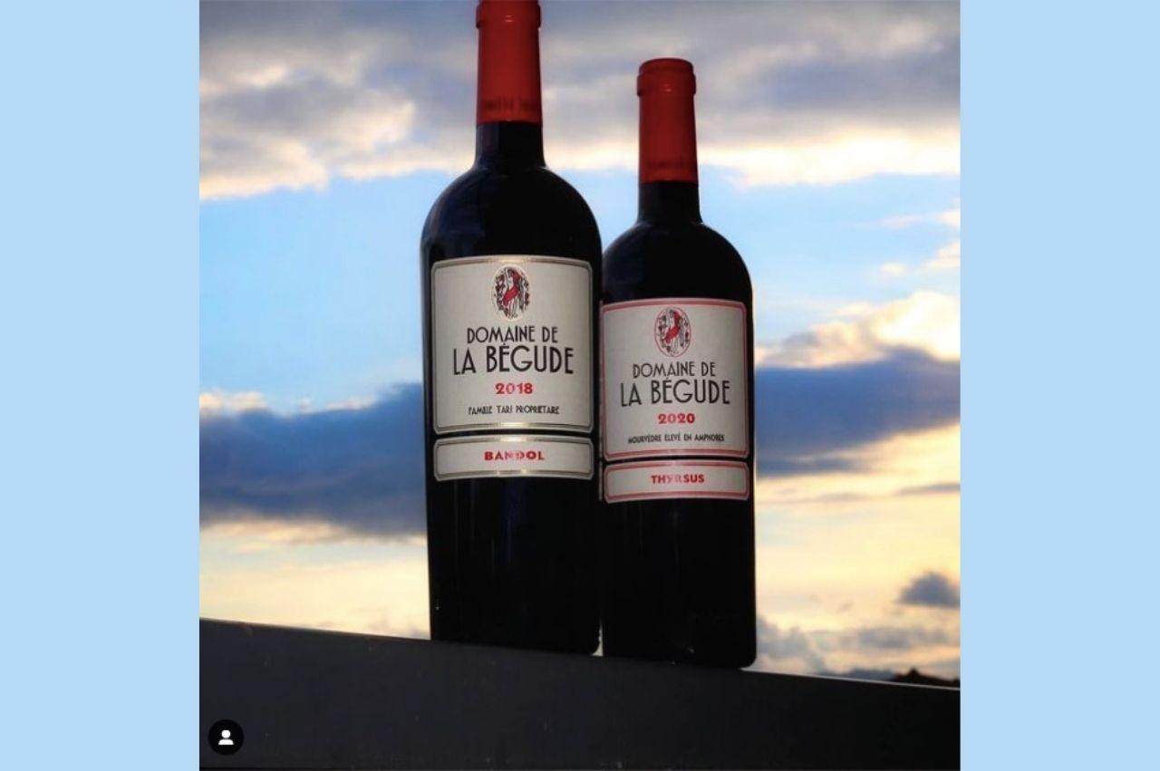 Travel Glass Wine 🍷 •  Domaine de la Begude 2018  Bandol and Thyrsus 2020 élevé en amphores