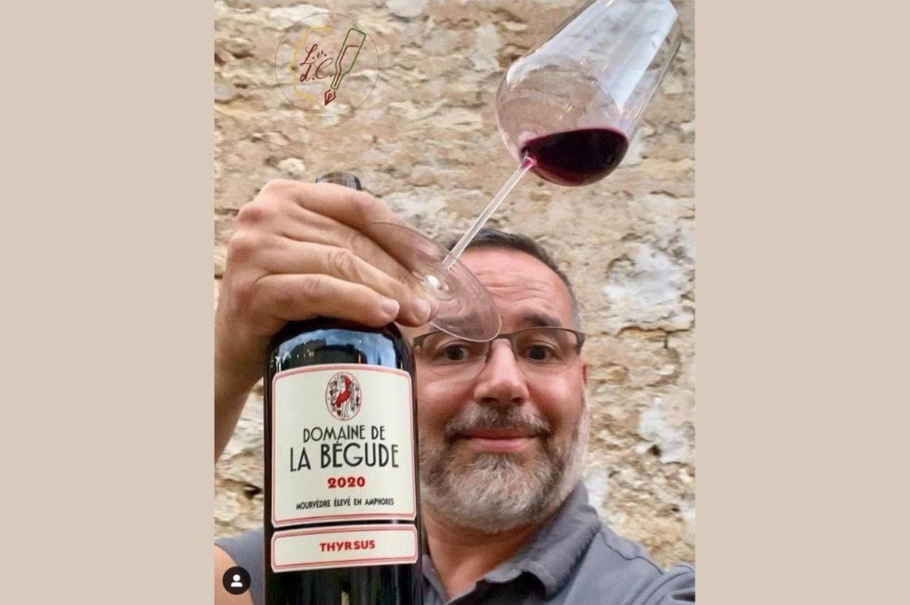 Les vins du capitaine - L'art de raconter l'histoire de la Bégude et de notre cuvée Thyrsus  Par Laurent, le conteur de vin