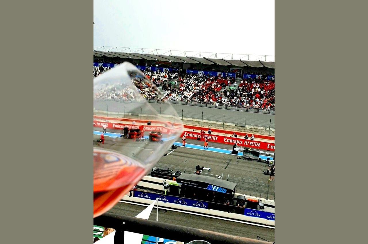 Le Domaine de la Bégude était présent au Circuit Paul Ricard pour le Grand Prix de France de Formule 1.