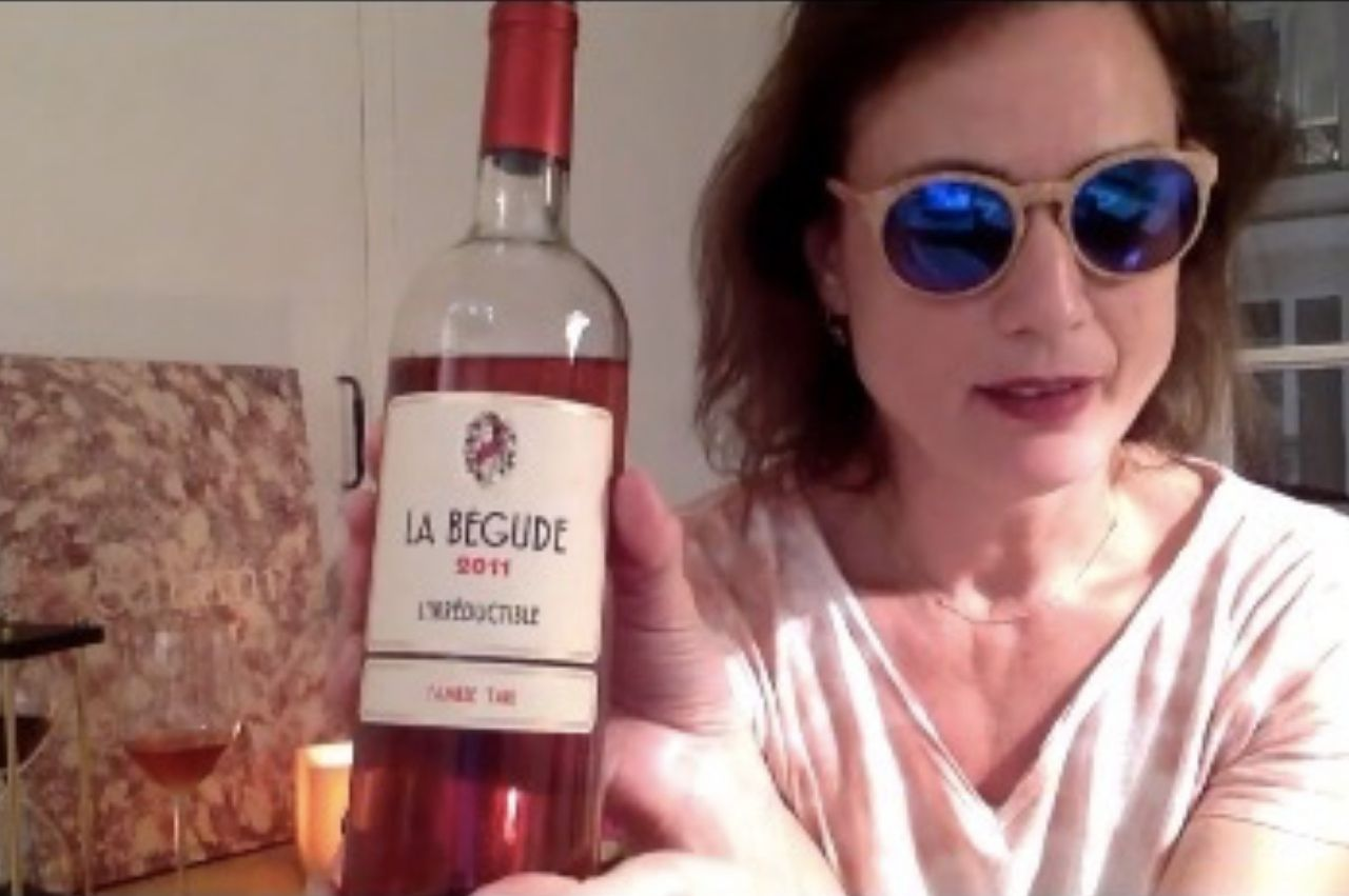 Lumineuse dégustation de notre Irréductible 2011 par Laure Gasparotto